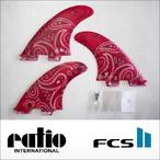 ratio【レイシオ】フィン RST-CL FCS II(レッドペーズリー)