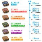 SEXWAX【セックスワックス】ワックス Quick Humps Surf Wax: (Eco Box)