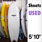 【新古】Shootz【シューツ】サーフボード SKEG HC FISH KEEL FIN付(P3227351)
