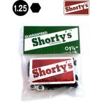 """Shortys【ショーティーズ】Biss(1.25"""")六角"""