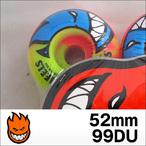 Spitfire【スピットファイヤー】ウィル BIGHEAD TROPIC SWIRL(Rocket Red×Neon Green) 52mm/99DU