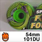 Spitfire【スピットファイヤー】ウィル FORMULAFOUR RADIALS DEATH ADDER (Green) 54mm/101D