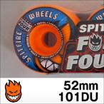 Spitfire【スピットファイヤー】ウィル FORMULAFOUR RADIALS  (Orange) 52mm/101D