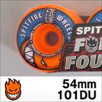 Spitfire【スピットファイヤー】ウィル FORMULAFOUR RADIALS  (Orange) 54mm/101D