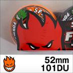 Spitfire【スピットファイヤー】ウィル FORMULAFOUR HAZARD SWIRL (Orange x Charcoal SWL) 52mm/101D