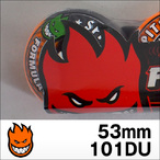Spitfire【スピットファイヤー】ウィル FORMULAFOUR HAZARD SWIRL / CLASSIC SHAPE (Orange x Charcoal SWL) 53mm/101D