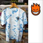 Spitfire【スピットファイヤー】Tシャツ Tie Dye Capsule Classic (Sky Blue crinkl  tie dye) サイズ:M