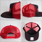 Thrasher【スラッシャー】メッシュキャップ Embroidered Logo Mesh Cap (Black/Red)
