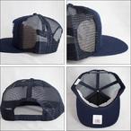 Thrasher【スラッシャー】メッシュキャップ Skategoat Mesh Cap (Navy/White Embroidered)