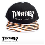 Thrasher【スラッシャー】キャップ SNAP BACKCAP(Tiger Stripe)