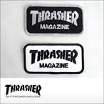 Thrasher【スラッシャー】ワッペン Patch - Logo 10.2cm×5.2cm