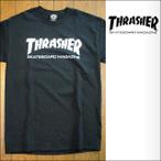 thrasher【スラッシャー】Tシャツ SKATE MAG BLACK