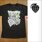 Thunder【サンダー】Tシャツ UNDEAD BLACK GLOW PRINT