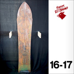 【16-17】TJ. BRAND スノーボード THE SHAPERS FRESH MAKER SHAPED by TAPPY 5'1 155.0cm