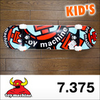 TOY MACHINE【トイマシーン】キッズコンプリート スケートボード ROBOT RED/BLUE MINI 7.375