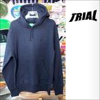 TRIAL【トライアル】ヘビーウエイトプルパーカー(裏起毛) 11.5オンス (ネイビー)