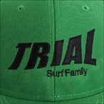 TRIAL【トライアル】キャップ Kelly Green (Black Logo)