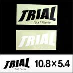 TRIAL【トライアル】ステッカー中 10.8×5.4
