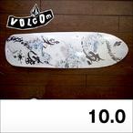 TU Street Surf VOLCOM FEAUTURED ARTISTシリーズ TOSHIKAZU NOZAKA × USUGROW × VOLCOM フルサイズクルーザーデッキ 10x34.5