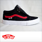 Vans【バンズ】シューズ TNT SG (Black/Racing Red)
