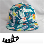 VOLCOM【ボルコム】メッシュキャップ Circle Stone Print Cheese Hat