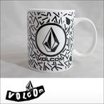 Volcom【ボルコム】マグカップ Circle Stone Mug Cup(WHT)
