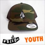 VOLCOM【ボルコム】キッズ YOUTH HATS FULL Stone Cheese Hat Youth 6パネルスナップバックメッシュキャップ (SOI)