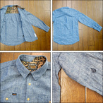 VOLCOM Munson L/S Shirt BLU