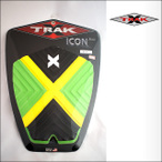 X-TRAK【エックストラック】デッキパッド MYSTIC JAMAICAN FLAG