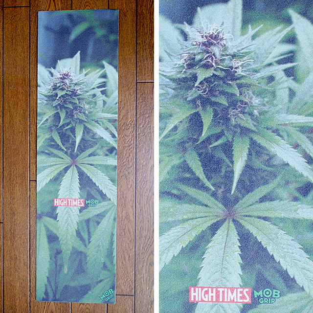 Mob Grip【モブグリップ】デッキテープ グリップテープ High Times Magazine Purple Pineberry Sheet ハイタイムスマガジン 9×33