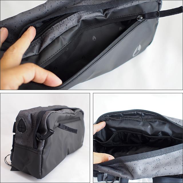 NIXON【ニクソン】ボディバッグ FOUNTAIN SLING PACK2 スリングパック(Gray)
