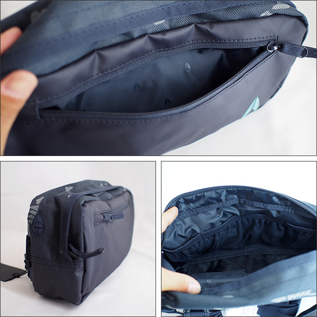 NIXON【ニクソン】ボディバッグ FOUNTAIN SLING PACK2 スリングパック(Navy/Mineral)