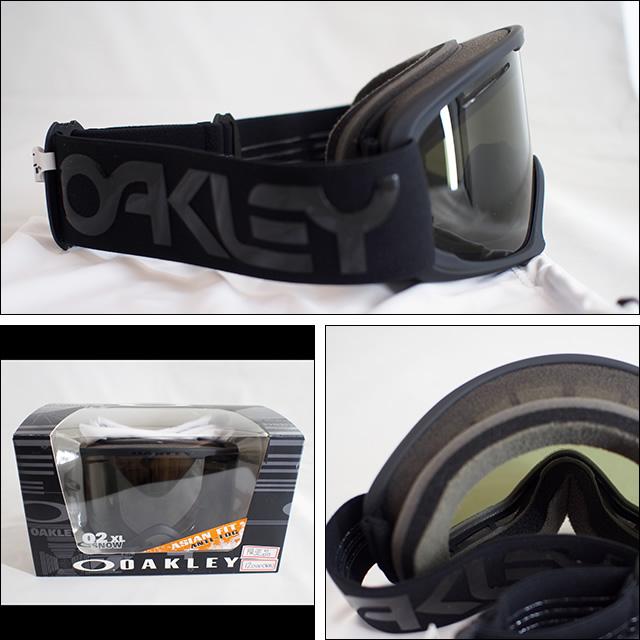 OAKLEY【オークリー】ゴーグル 02XL Factory Pilot Blackout / Dark Grey (アジアンフィット)