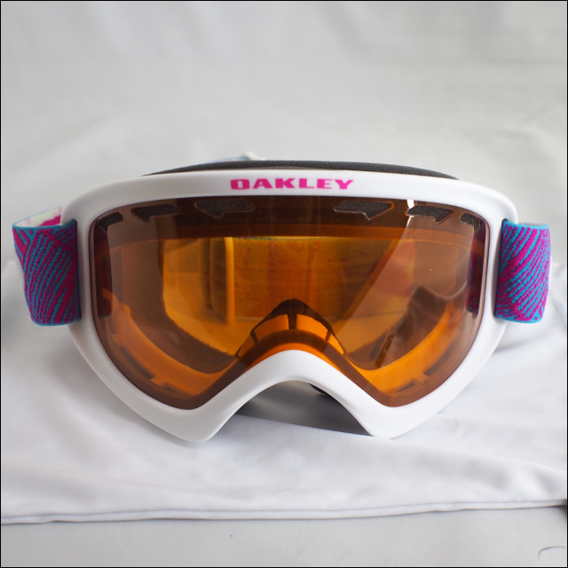 OAKLEY【オークリー】ゴーグル 02XS Geo Chaos Neon Pink / Persimmon