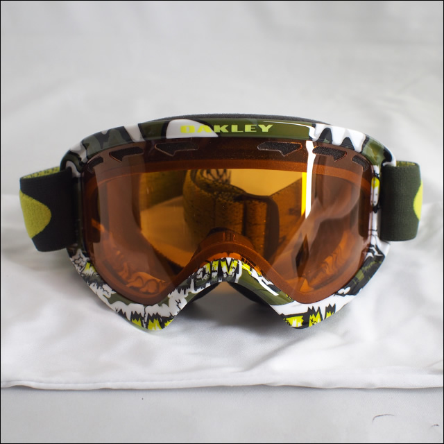 OAKLEY【オークリー】ゴーグル 02XS Shady Tress Army Green / Persimmon