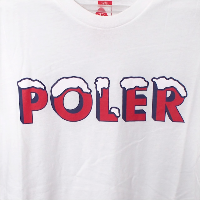 Poler Camping Stuff【ポーラーキャンピングスタッフ】Tシャツ FROZEN TEE (White) サイズ:S