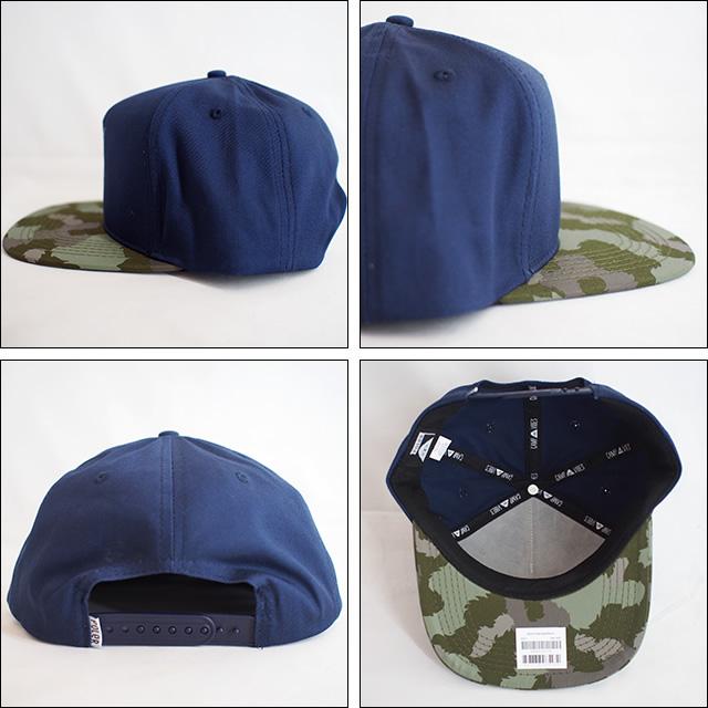 Poler Camping Stuff【ポーラーキャンピングスタッフ】キャップ PEACE PAW SNAPBACK CAP(Navy)