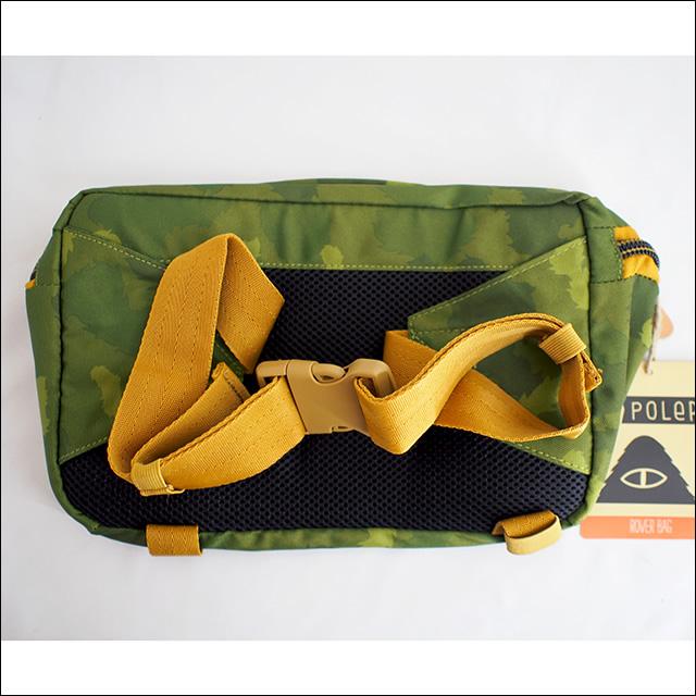 Poler Camping Stuff【ポーラーキャンピングスタッフ】ボディバッグ ROVER BAG(Green Furry Camo)12L