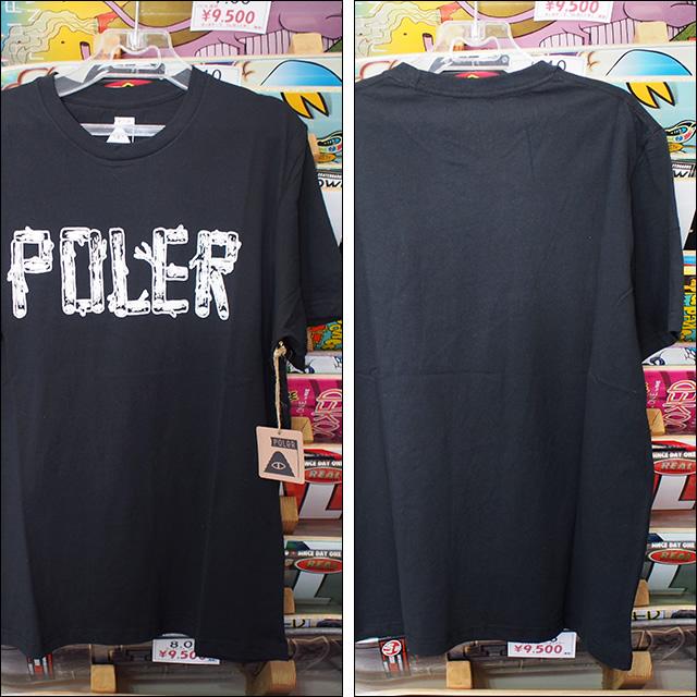 Poler Camping Stuff【ポーラーキャンピングスタッフ】Tシャツ SPRIG TEE (Black) サイズ:M