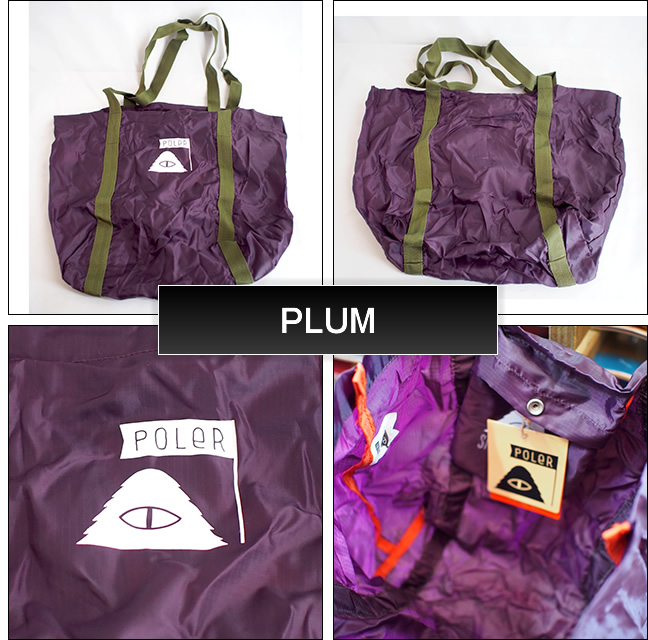 Poler Camping Stuff【ポーラーキャンピングスタッフ】ボディバッグ STUFFABLE TOTE BAG 18L
