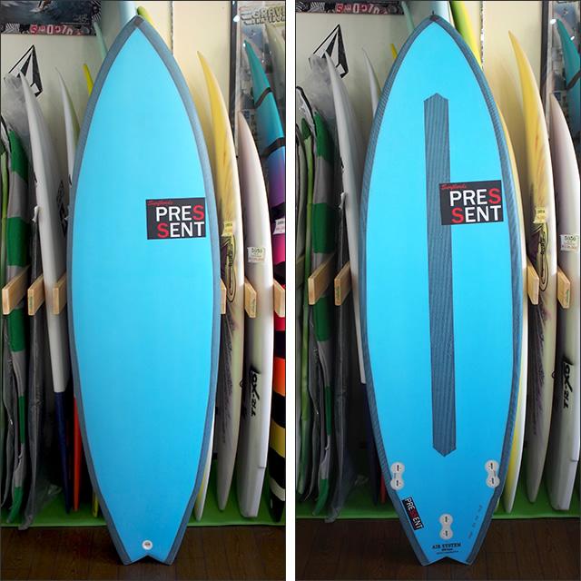 PRESSENT Surfboards【プレゼント】DRONPA2(EPS/ノンストリンガーモデル) 5.10×50×5.6