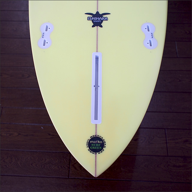 PRESSENT Surfboards【プレゼント】MINIMINI LONG(EPS) 6'6×51×6.6