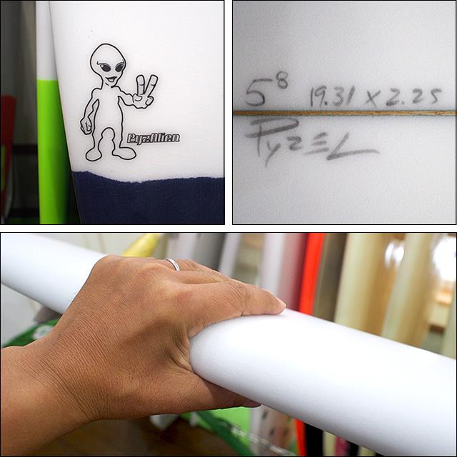 PYZEL【パイゼル】サーフボード PYZALEN 5'8×19.31×2.25
