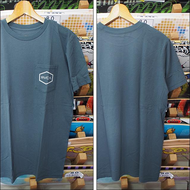 RVCA【ルーカ】Tシャツ HEXED TEE(STE)サイズ:M