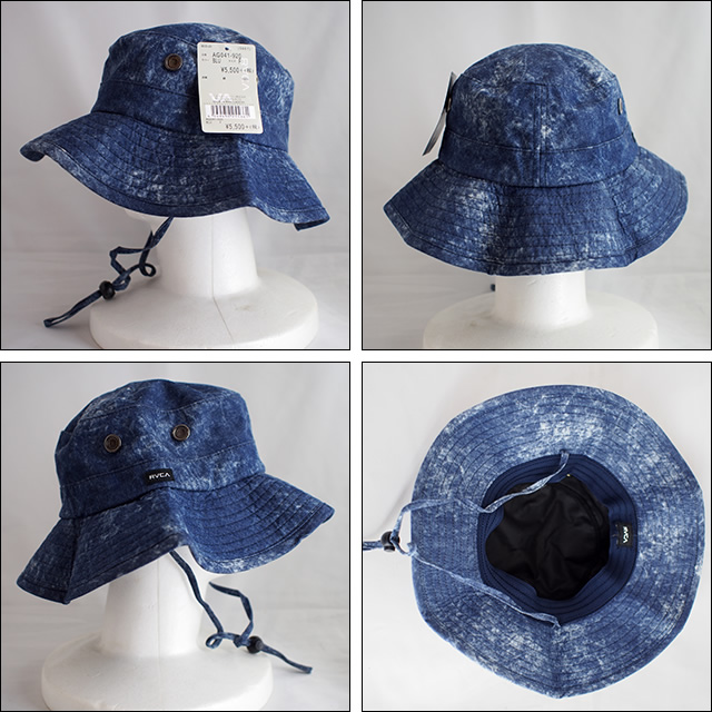 RVCA【ルーカ】ハット ROUGE BOONIE HAT(BLU)