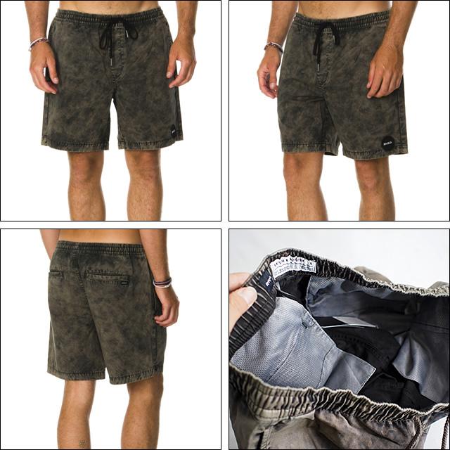 RVCA【ルーカ】サーフパンツ サーフトランクス Koolin Out Shorts(Coalmine)サイズ:S