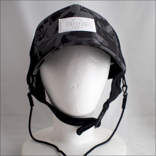 TAVARUA【タバルア】スタンダードサーフキャップ (Black Camo)
