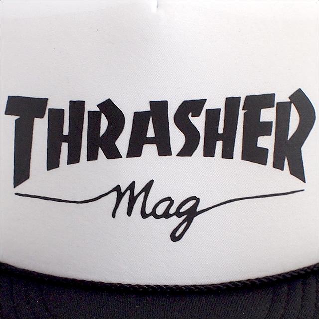 Thrasher【スラッシャー】メッシュキャップ MESHCAP Mag Logo Printed
