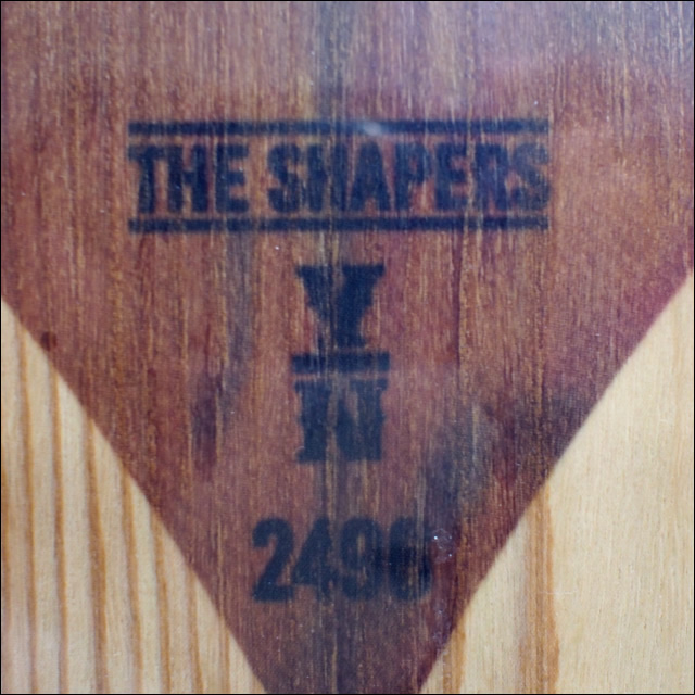 【16-17】TJ. BRAND スノーボード THE SHAPERS 2496 5'2 158.4cm