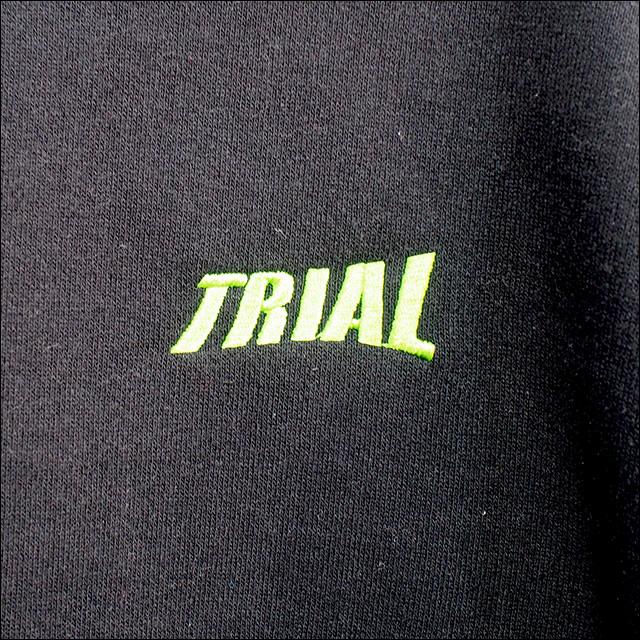 TRIAL【トライアル】ヘビーウエイトトレーナー(裏起毛) 11.5オンス (ブラック)
